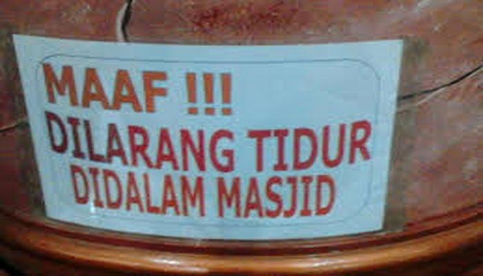 Hukum Larangan Tidur Dalam Masjid Bahtsul Masail PWNU Jatim
