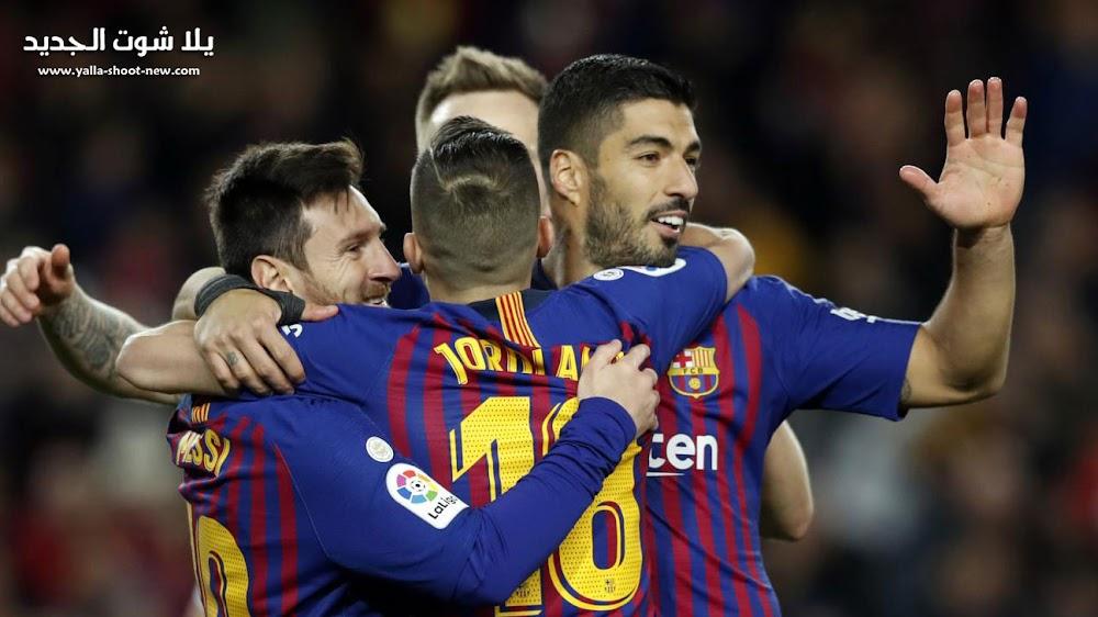 برشلونة ينهي مشواره فى الدوري الاسباني بالتعادل مع ايبار فى الجولة الاخيره