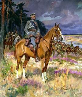 Piłsudski na Kasztance - Wojciech Kossak 1928