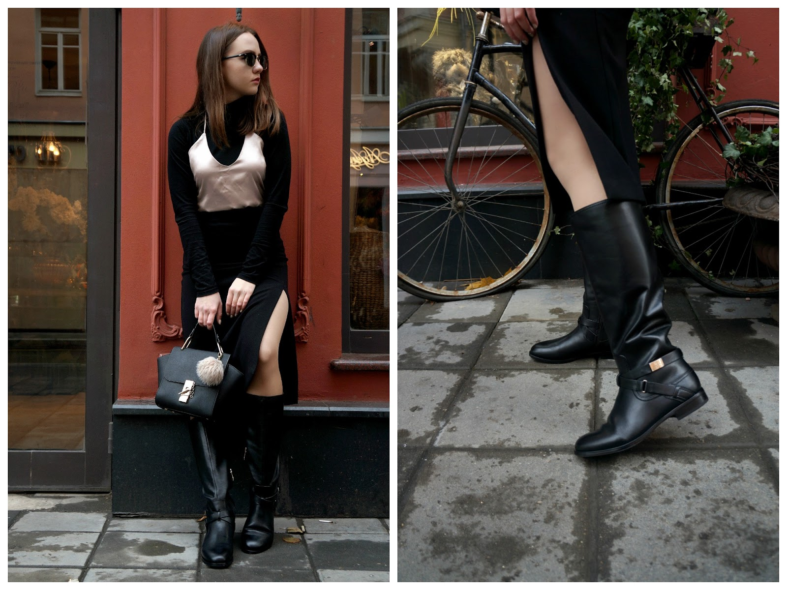 Black Boots For Winter | Fashion Blogger | Outfit