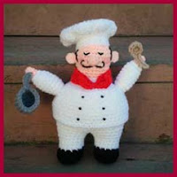 Chef amigurumi