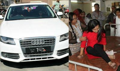 Ravindra Jadeja With Wife Reeva Solanki Survive Car Accident
