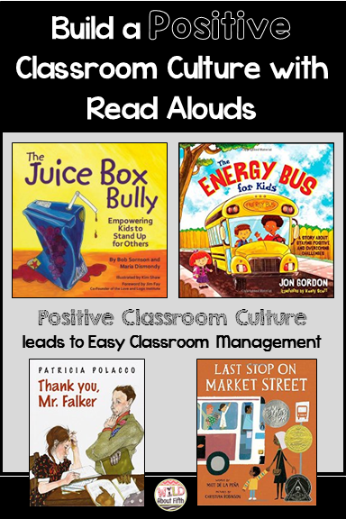 Build a Positive Classroom Culture with Read Alouds Blog Post