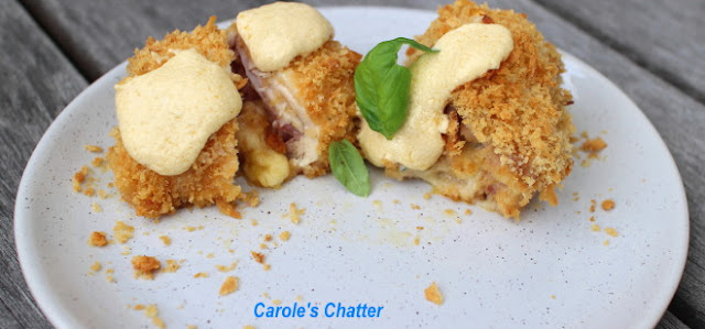 Carole's Chatter: Chicken Cordon Blue Roll Ups