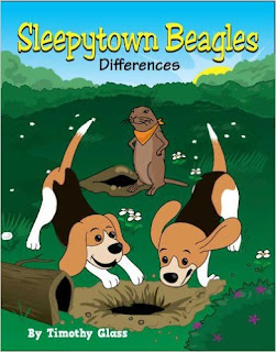 Sleepytown Beagles, Differences - Children's book by Timothy Glass