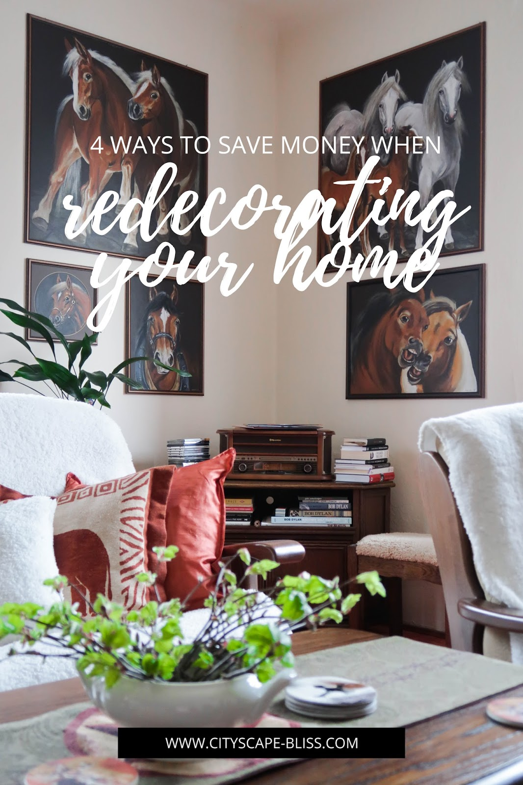 4 ways to save money when redecorating your home