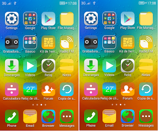 Tema Ios 11 For Vivo Y55
