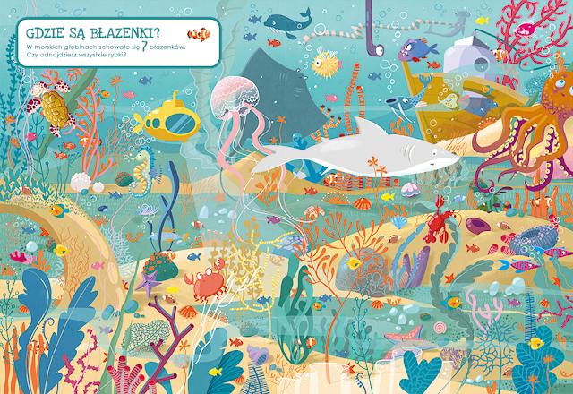 katarzyna urbaniak ilustracje wilga zagubione zwierzaki miasto zagubionych rzeczy morskie głębiny morze