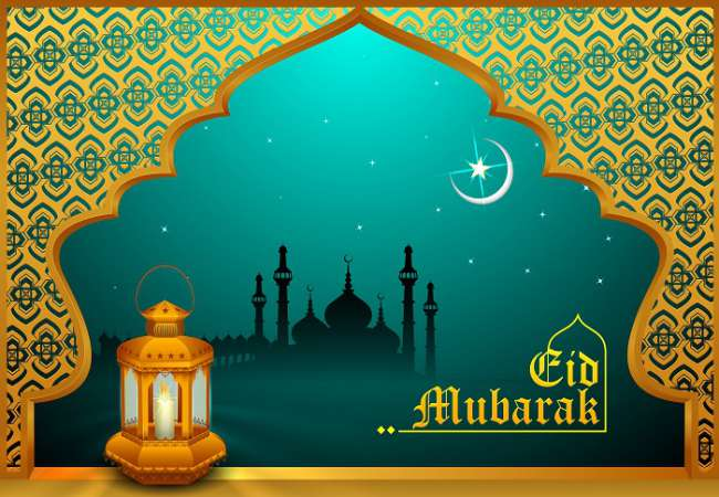 Eid mubarak greeting cards images