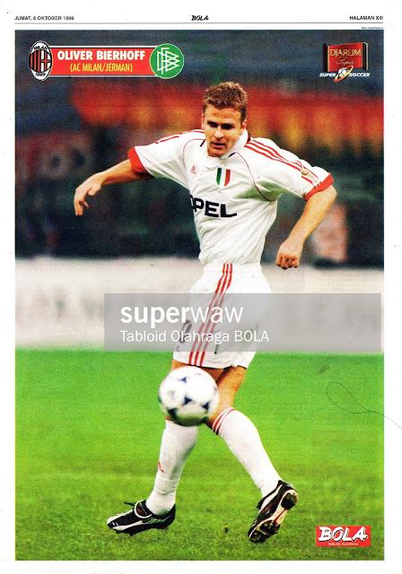 OLIVER BIERHOFF AC MILAN 1999