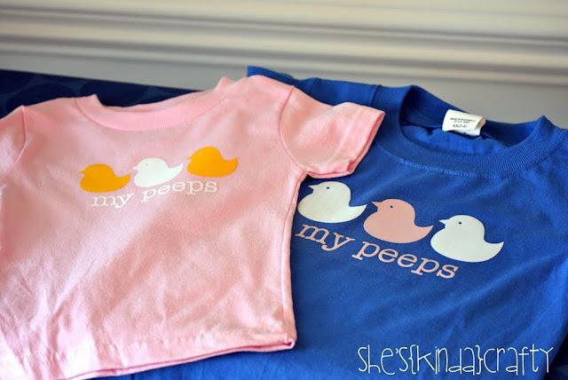 Peeps t-shirts