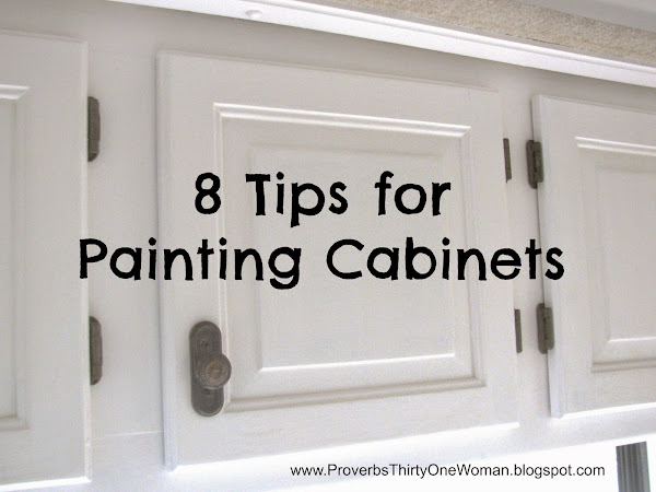 8 Tips for Painting Cabinets