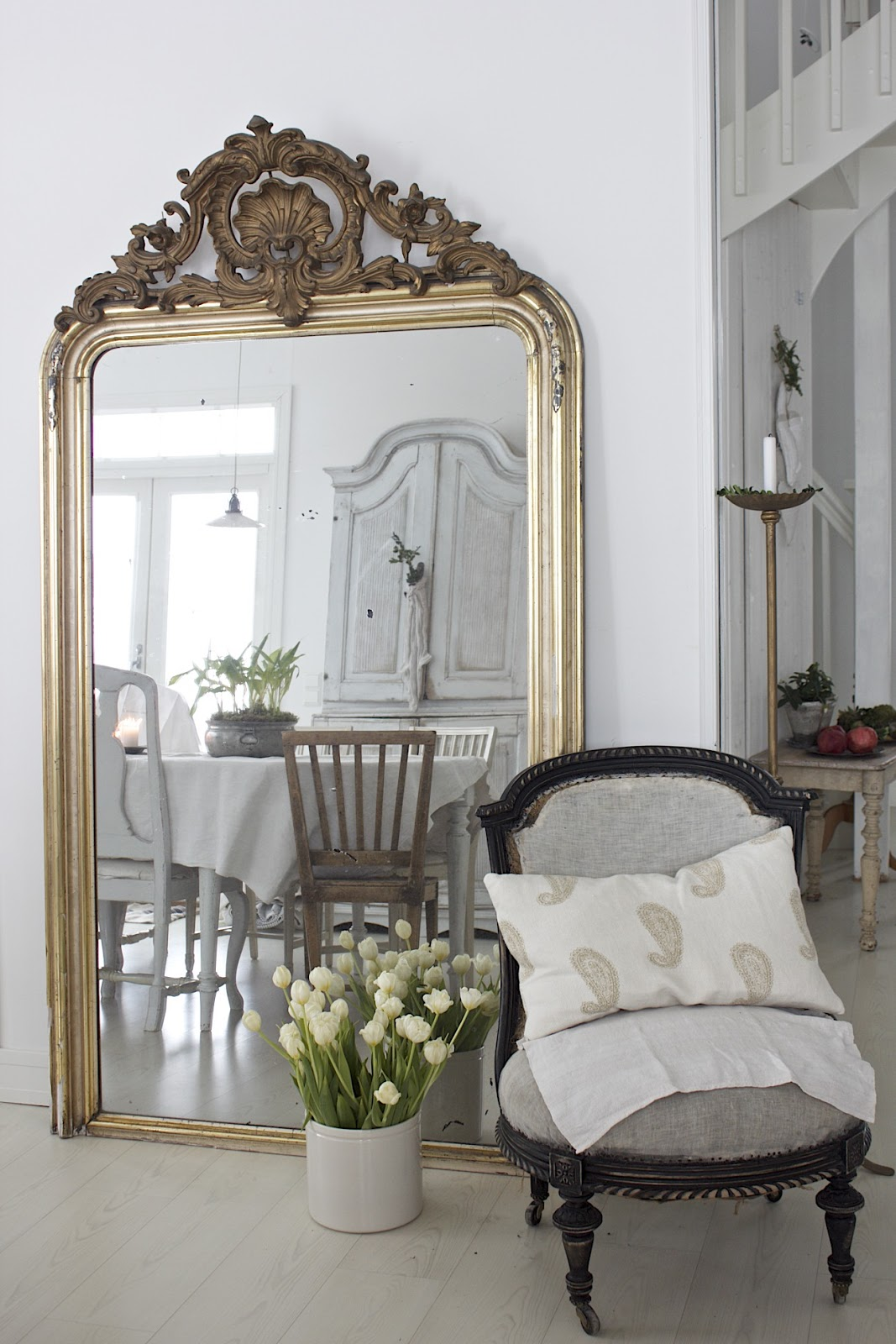 Goldener Spiegel Vintage Interior Blogs Vi A Country Home In Finnland