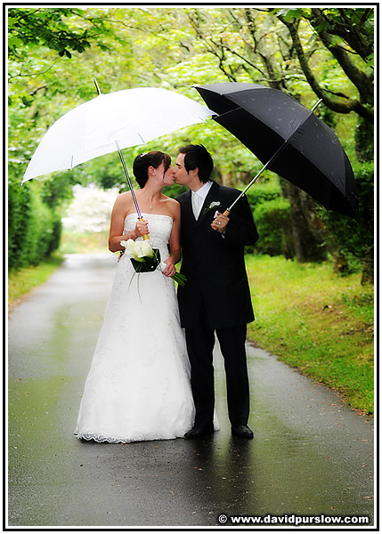 Raining Wedding Photography: Gotcha Covered: Rain, Rain, Go Away