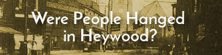 Link to article about hanging in Heywood, Lancashire.
