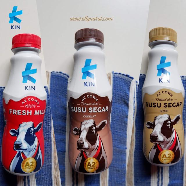 kin fresh milk susu berkelas dari sapi teratas
