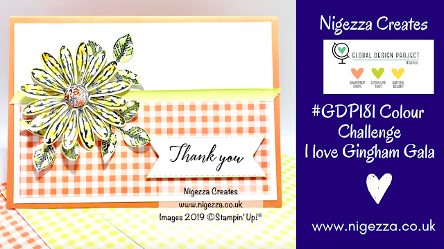 Daisy Delight Stampin' Up! Nigezza Creates #GDP181