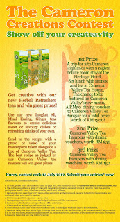 tea - CONTEST- [ENDED] Win a trip to Cameron Highland