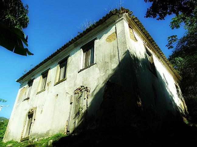 Casarão construído pelos escravos, por volta de 1780, na Costa da Lagoa da Conceição
