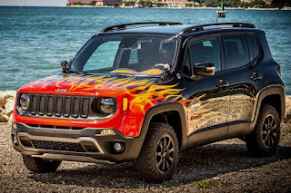 Jeep Renegade Hell's Revenge (2016) Front Side