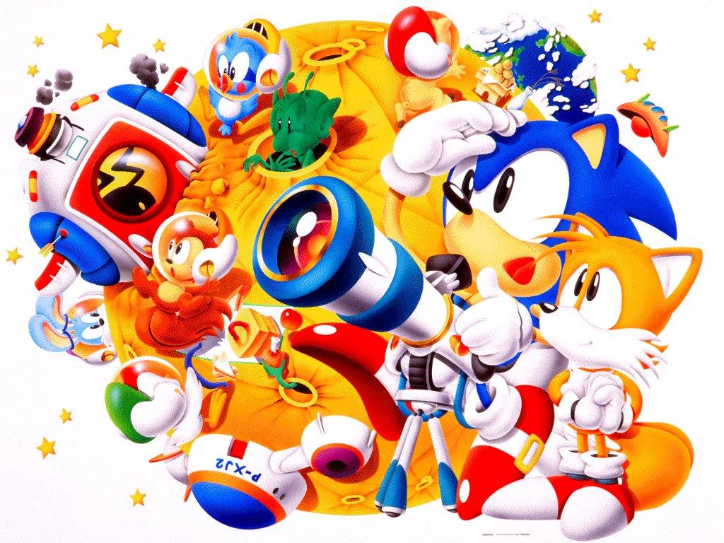 Sega Master System Wallpaper Sonic