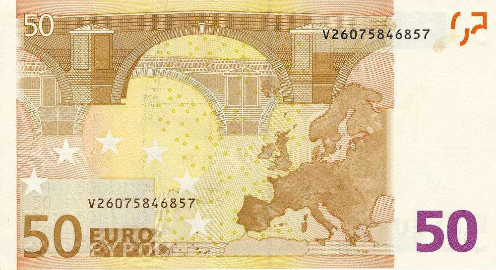 detrás euro