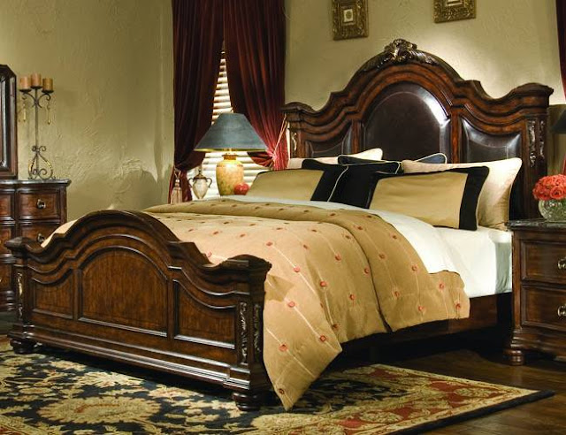 elegant Tuscan style furniture for bedroom