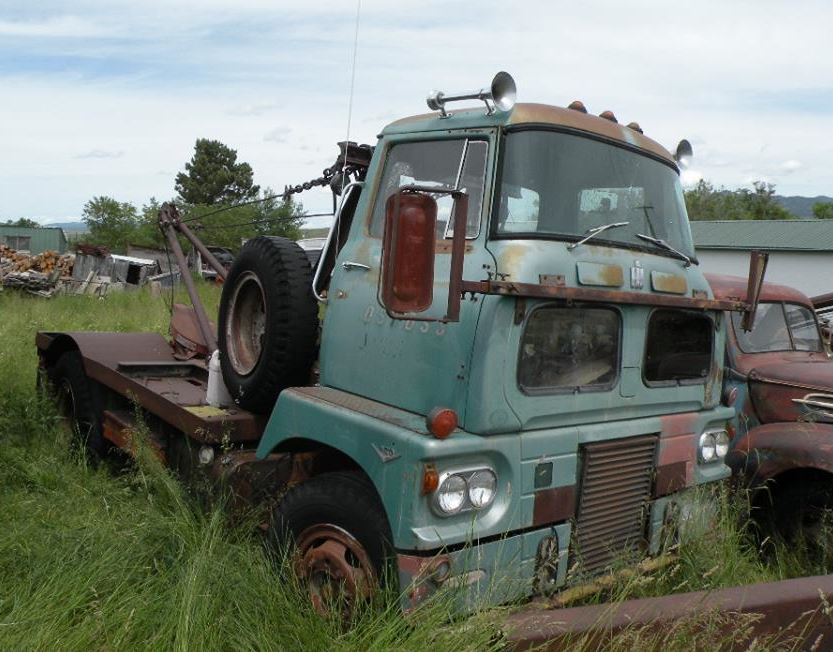 Just A Car Guy Wow An International Harvester Sightliner Coe Tow