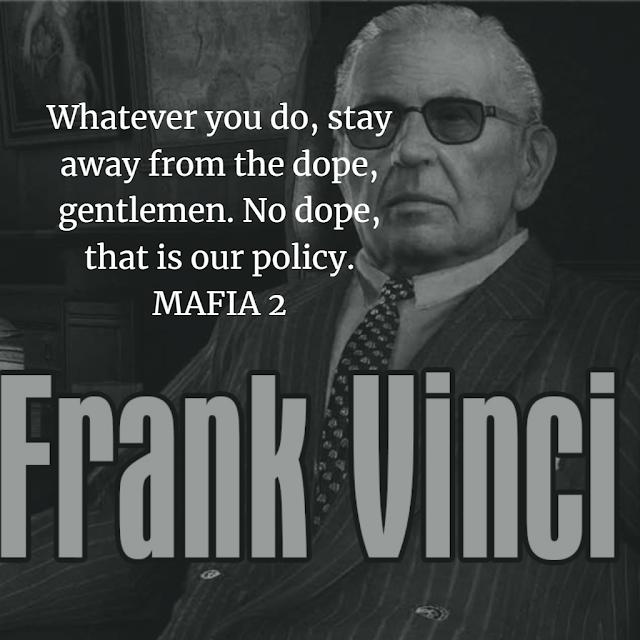 Frank Vinci mafia 2 quotes