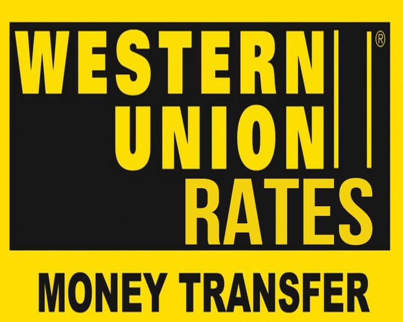 Western Union Pera Padala Rates