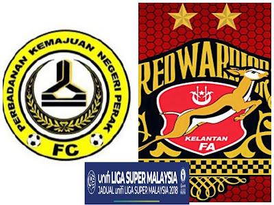 Live Streaming PKNP FC vs Kelantan Liga Super 2 Mei 2018