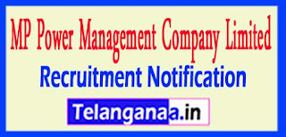 MPPMCL (Madhya Pradesh Power Management Company Limited) Recruitment Notification 2016 Last Date 14-05-2017