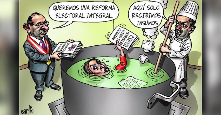 Carlincaturas Domingo 28 Mayo 2017 - La República