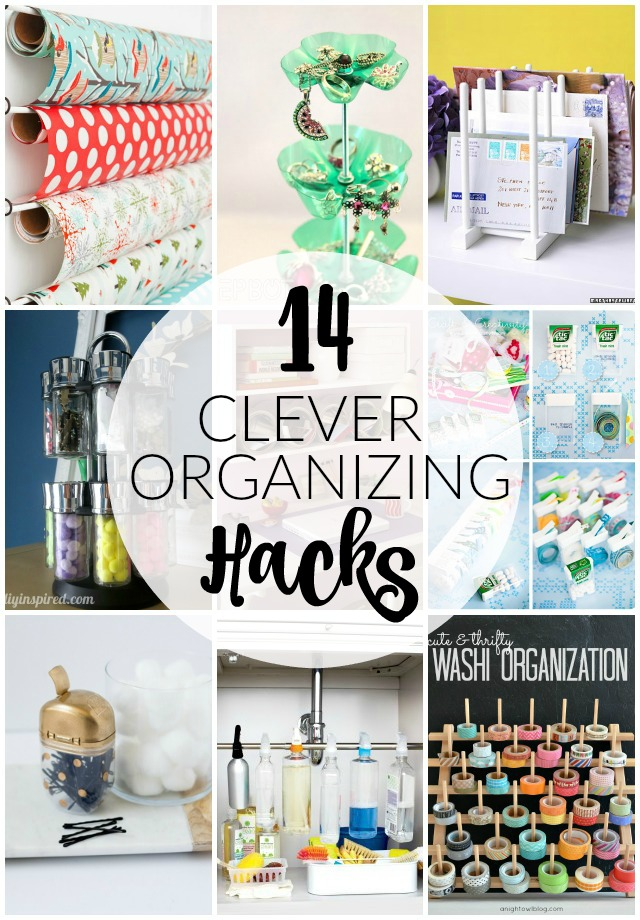 14 Clever Organizing Hacks