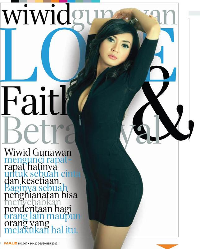 Majalah Pria Dewasa: Foto Seksi Wiwid Gunawan