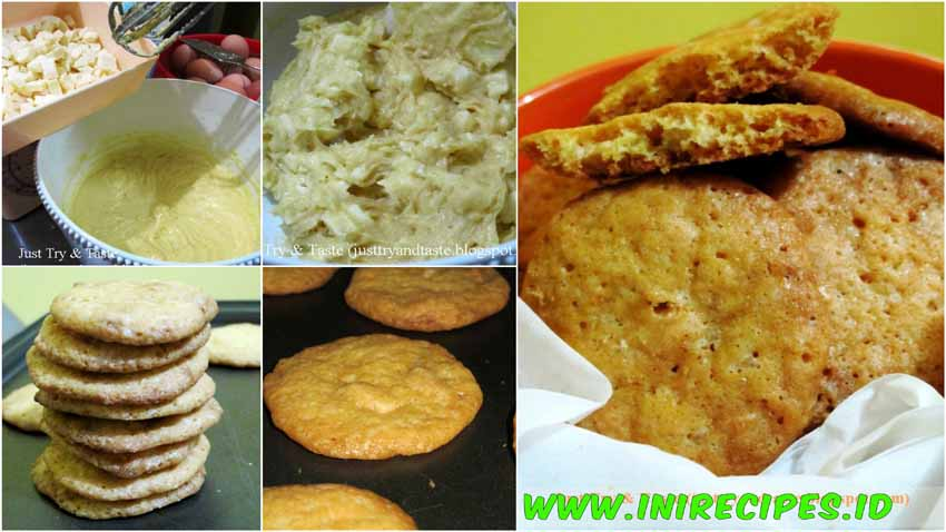 Cookies Coklat Putih dan Jeruk Lemon