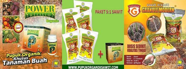 Pupuk Sawit Power Nutrition Pupuk NASA Organik