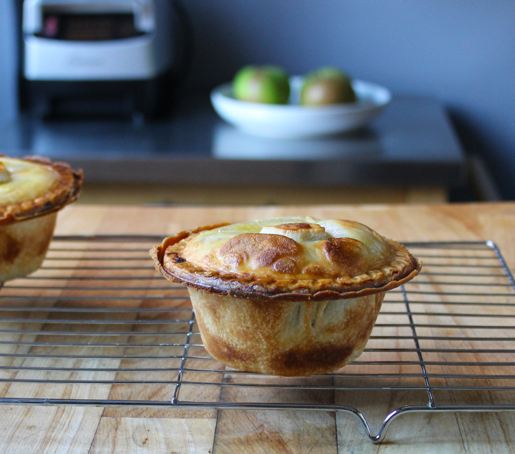 Apple Pie made in an electric pie maker