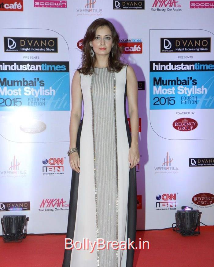 Dia Mirza, Mumbai's Most Stylish Awards 2015 Full Photo Gallery