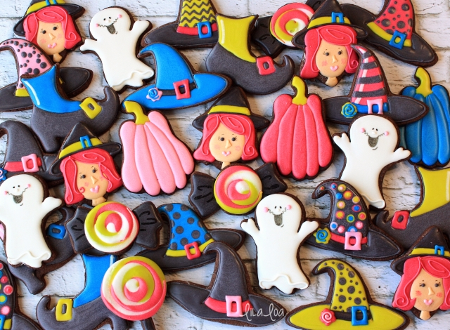how to make decorated witch cookies for halloween - How To Look Like A Witch For Halloween