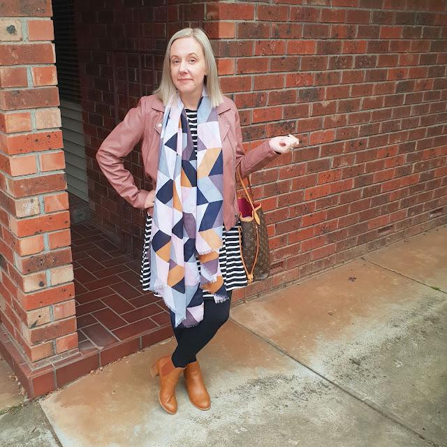 Katies blush biker jacket | Almost Posh