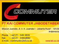 Loker Baru PT. KAI Commuter Jabodetabek Hingga 15 Februari 2018