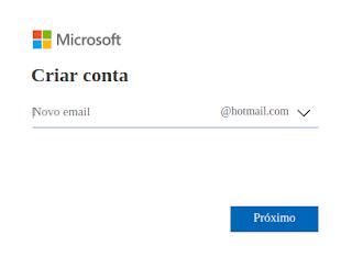 Como fazer e-mail Outlook Microsoft