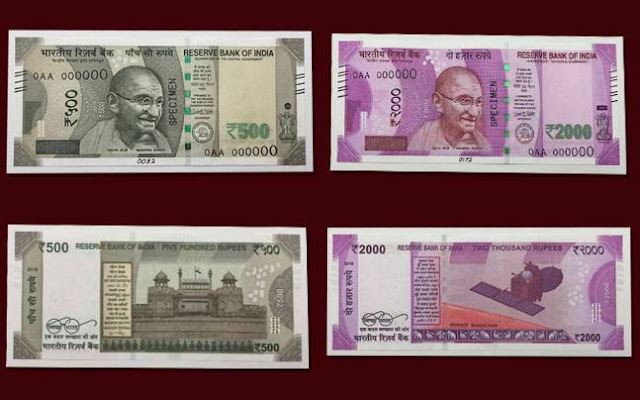 Features Of New Rs 500 and 2000 Note