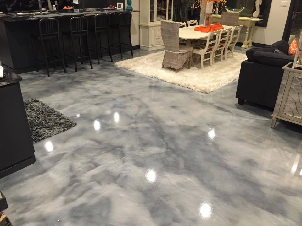 Epoxy Garage Floor : Pure metallic epoxy floor coating pictures