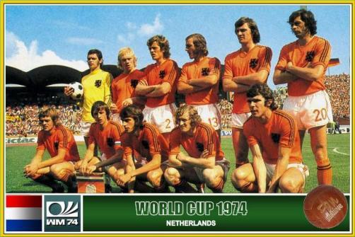 Resultado de imagem para selecao holanda 1974