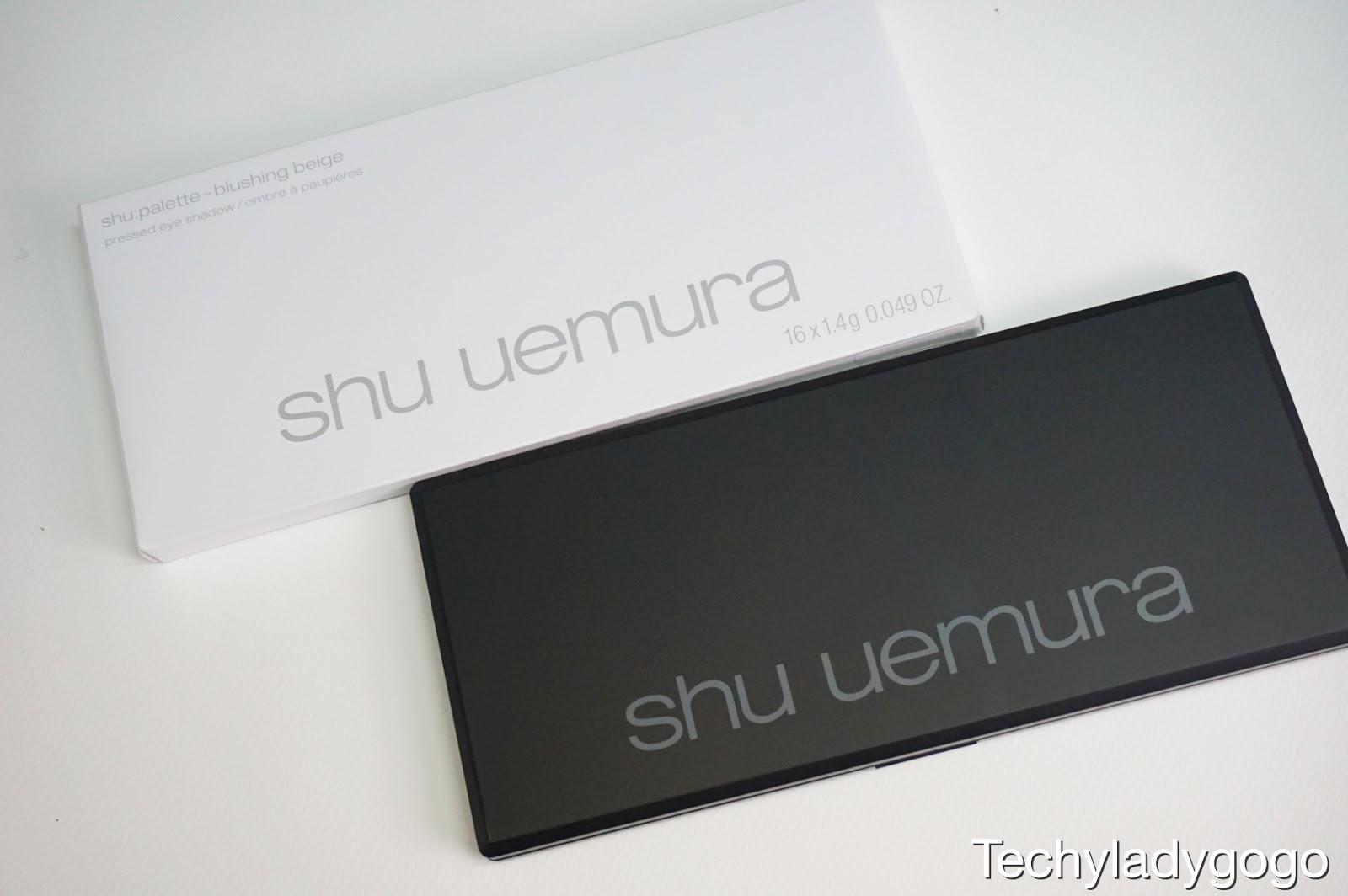 SHU UEMURA Blushing Beige Eyeshadow Palette