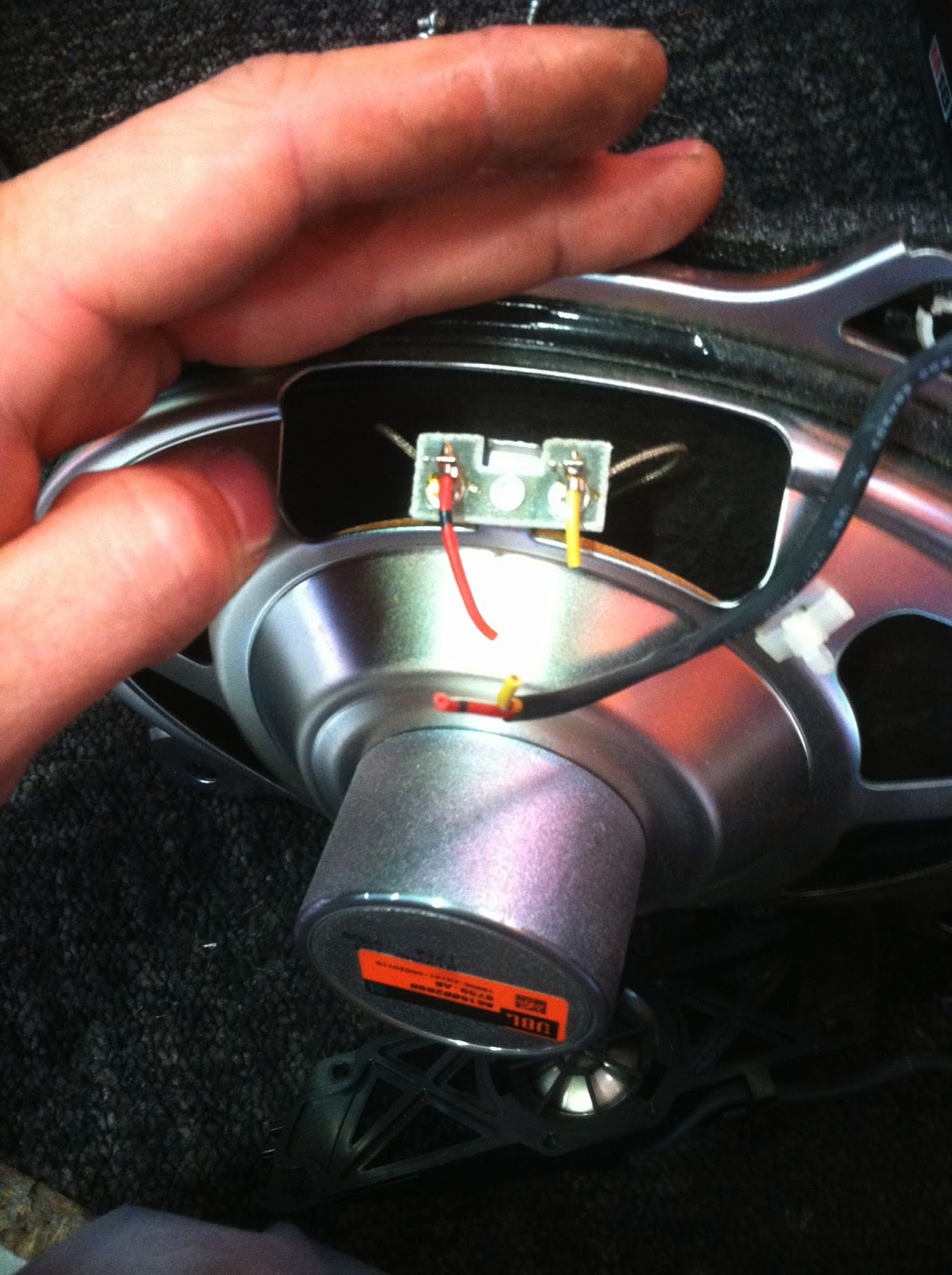 small resolution of toyota camry factory rear speakers