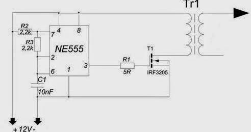 Tool Electric: Схема блокинг-генератора на NE555 и полевом ...: http://invertor-blog.blogspot.com/2014/06/ne555.html