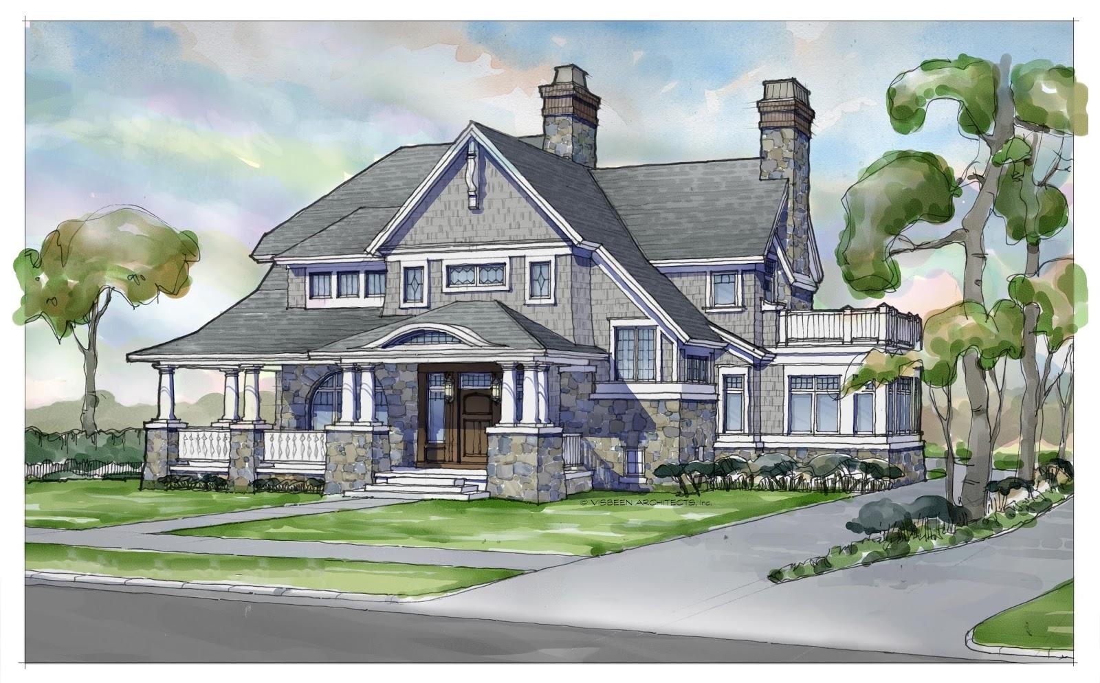 Builder Magazine: Shingle Style Homes